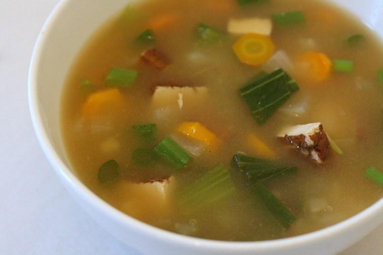 good health miso garlic ginger