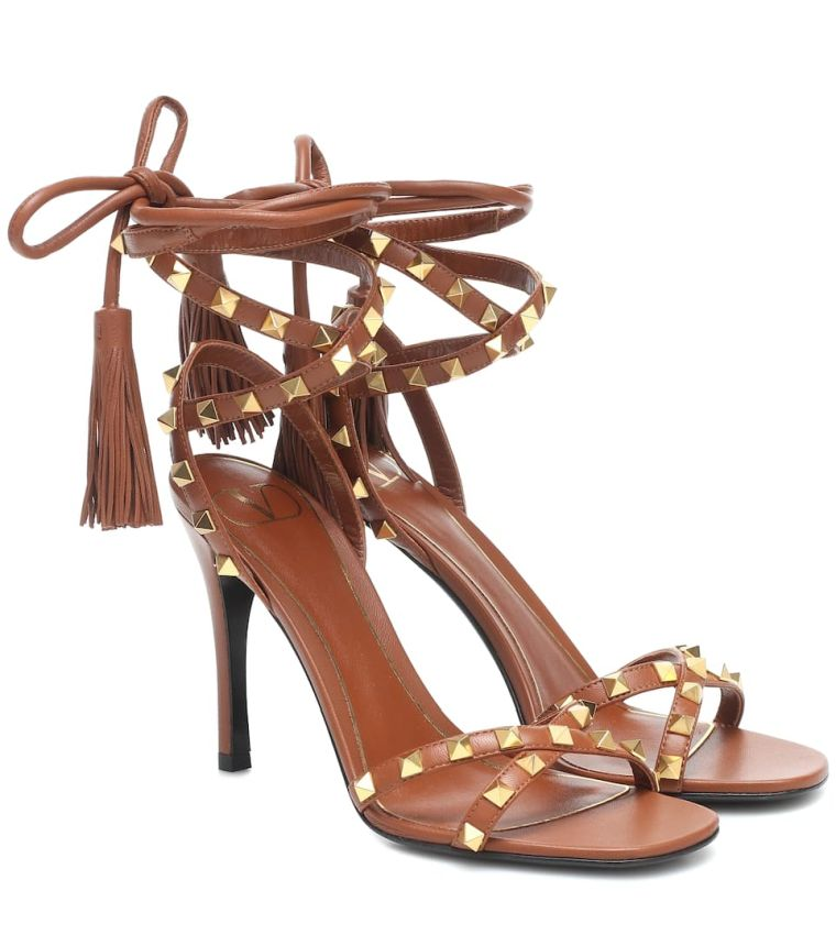 strappy and studded shoes by Valentino