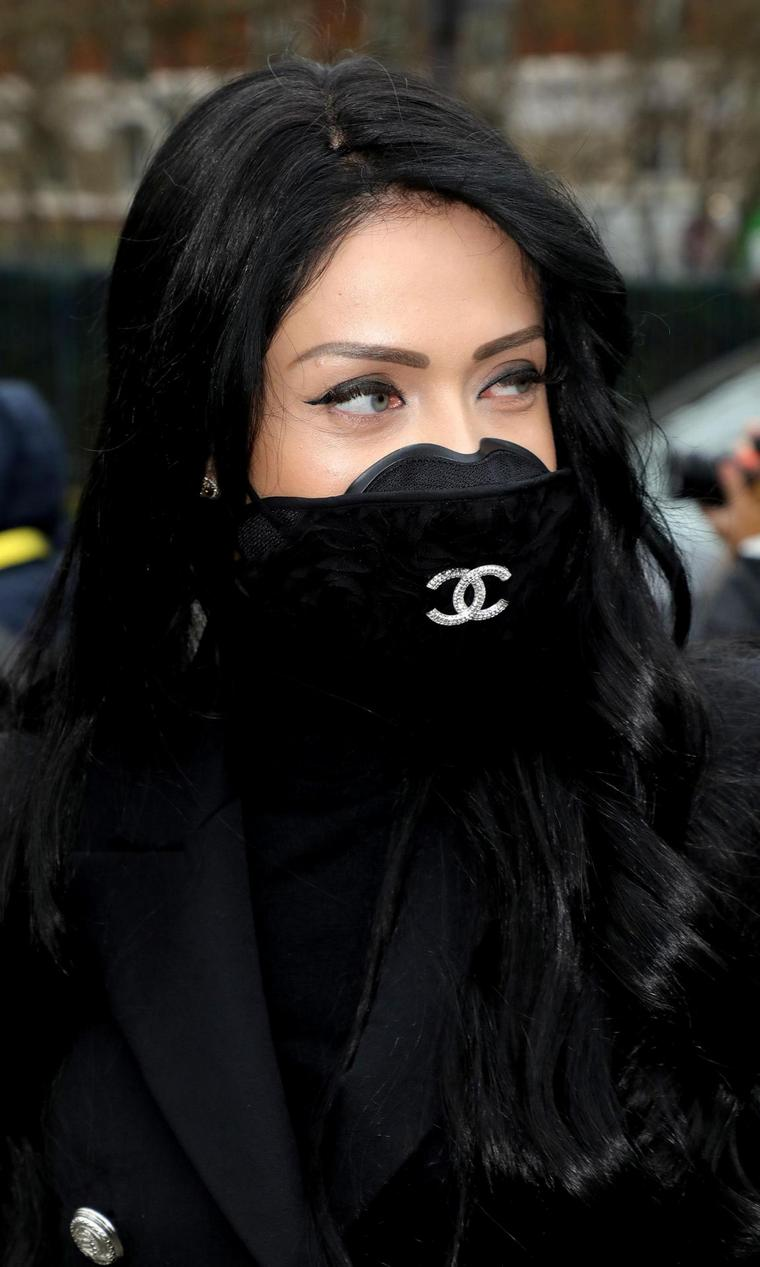 coronavirus mask chic Chanel