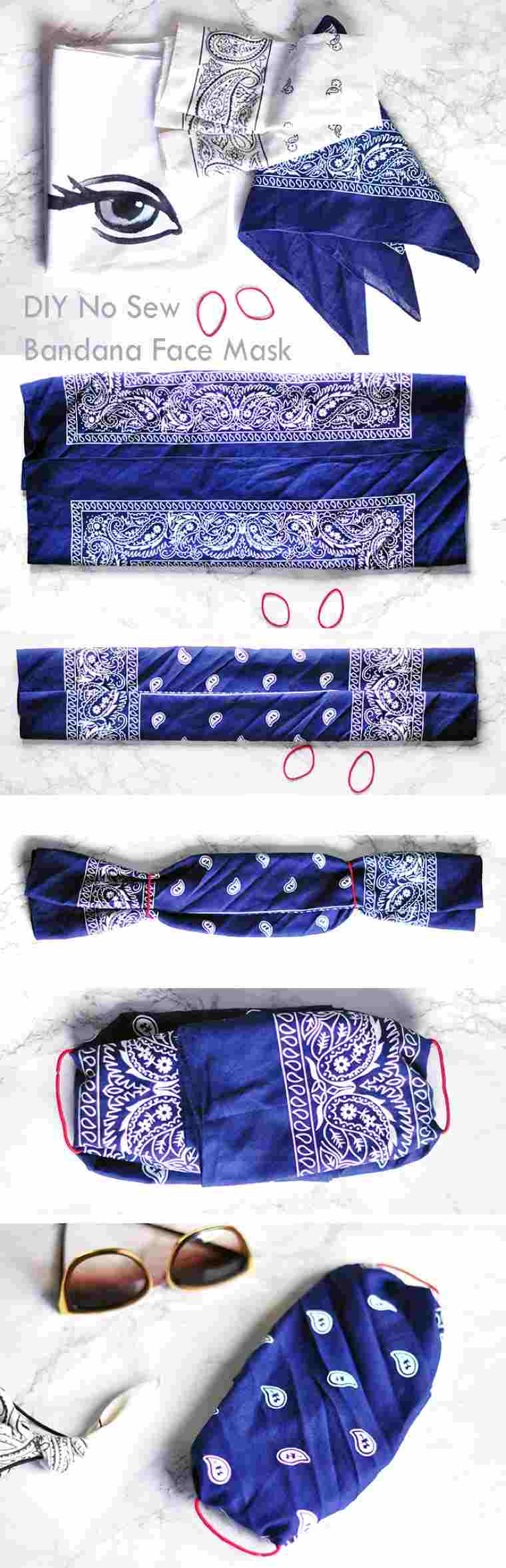 create masks to protect yourself in bandana