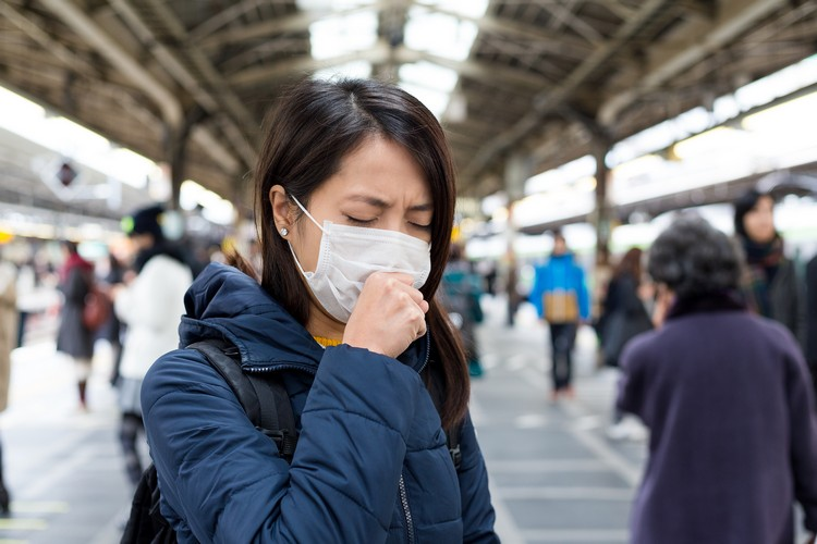 create a breathing mask to protect others