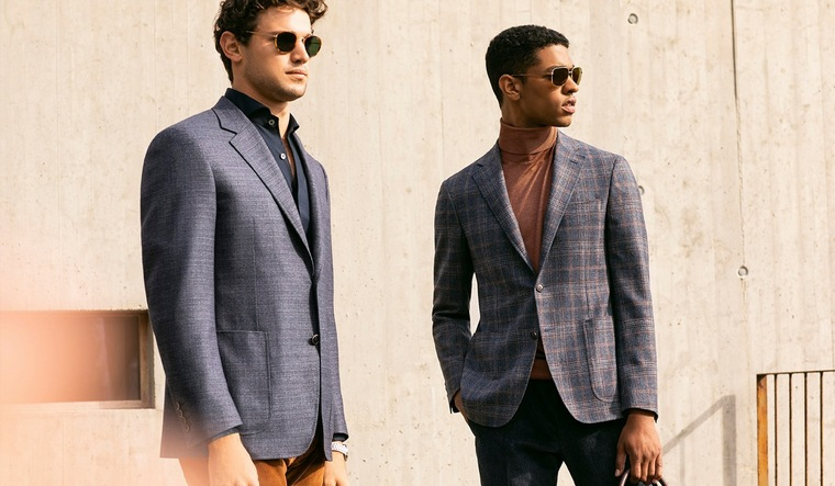 men fashion jackets open pockets