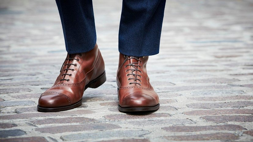 fashionable male shoe idea