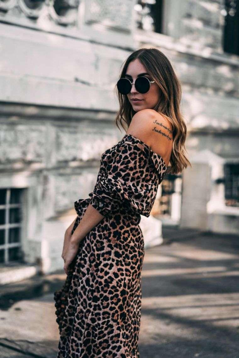 idea for leopard dress