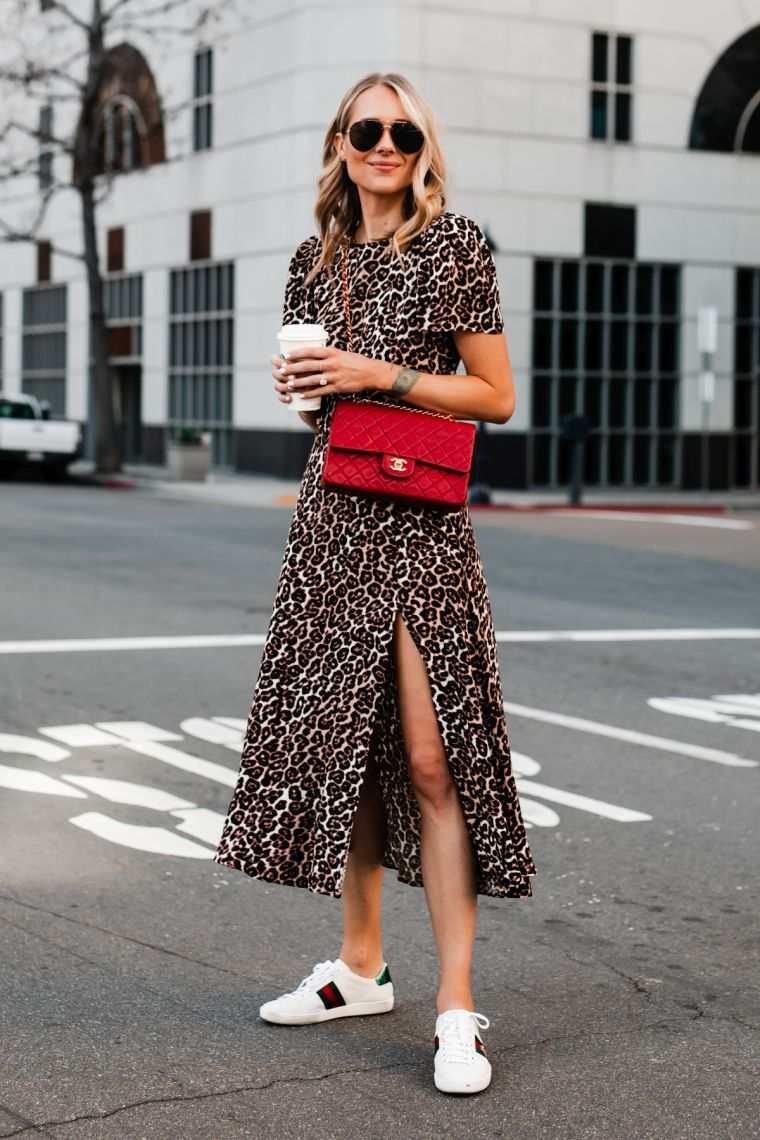 leopard prints: dress