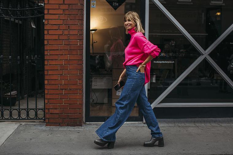 women's wide street style pants