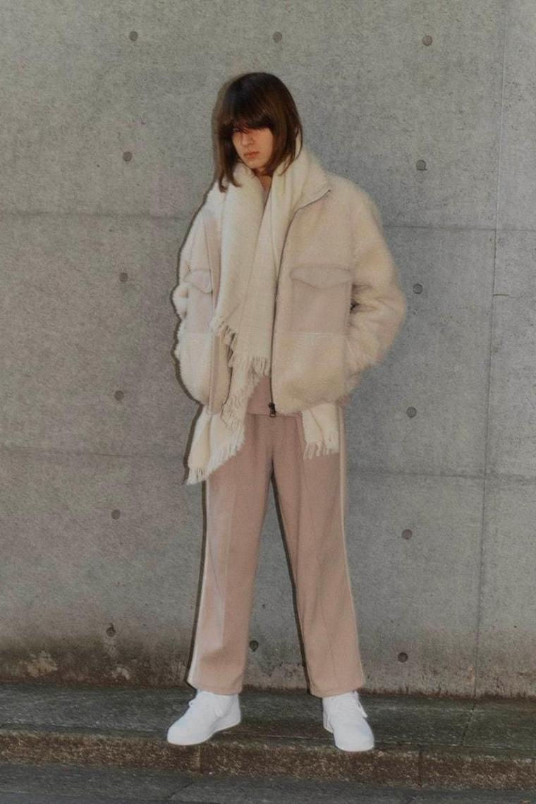 faux coat large pockets