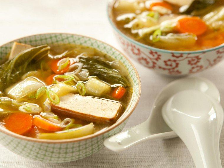 miso elder ginger soup