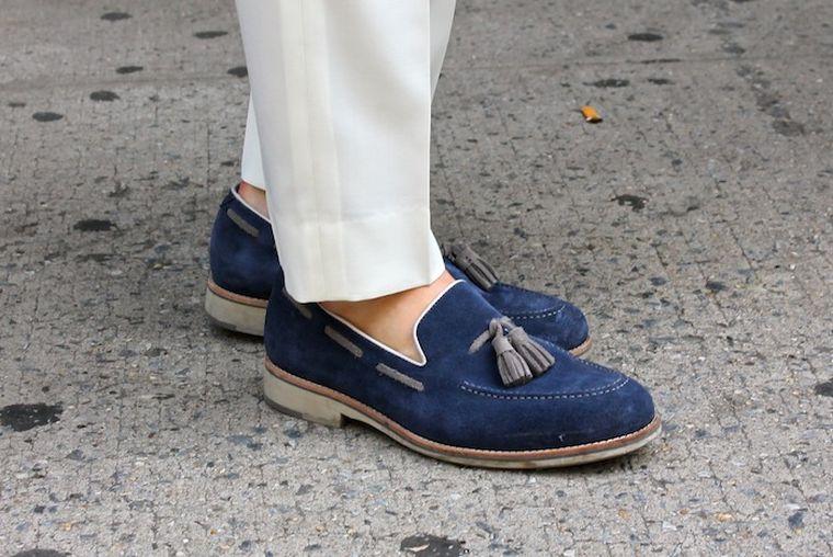 trendy men's loafers