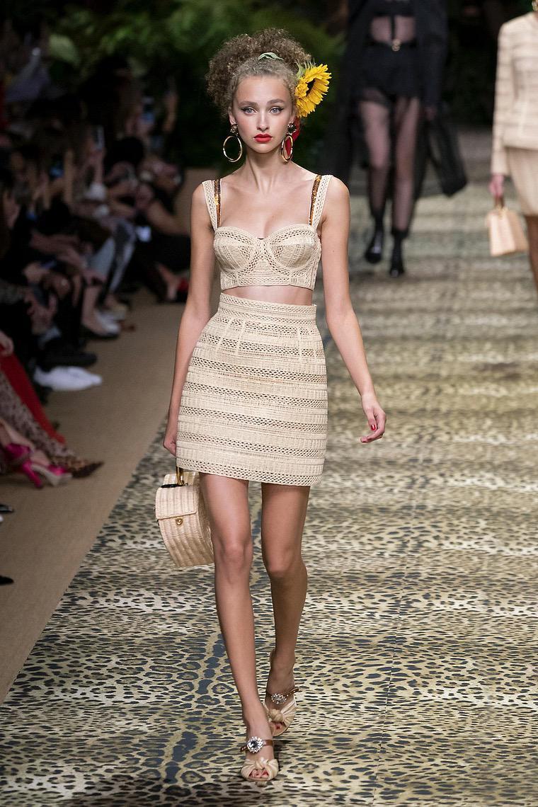 Dolce Gabbanna fashion trend 2020