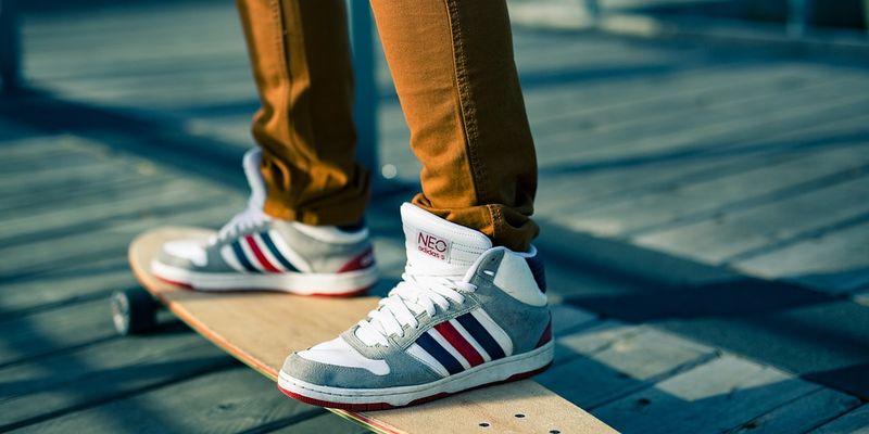 fashionable shoe model