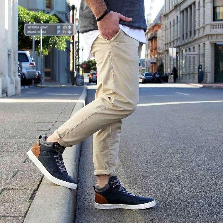 trendy shoe model man