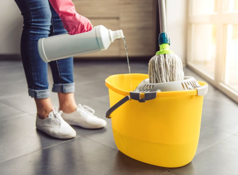 how to properly clean the house