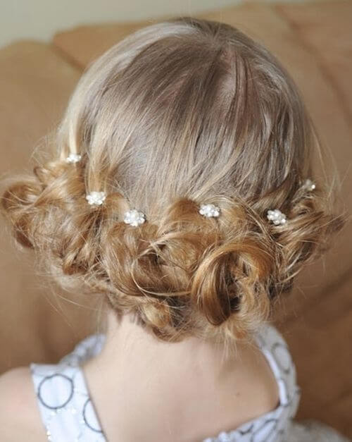 first communion hairstyles collected under