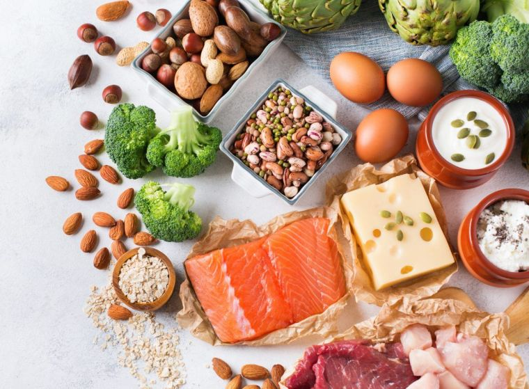 healthy diet and protein