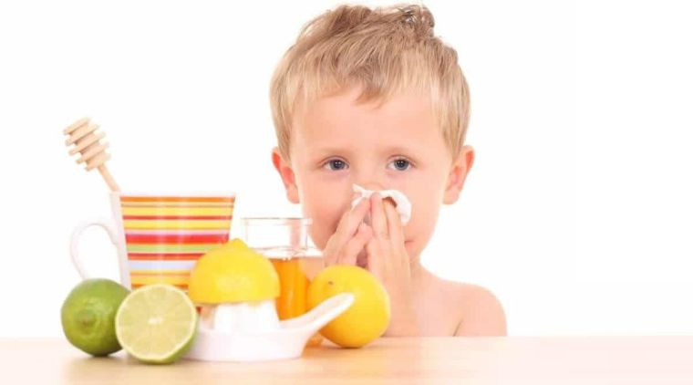 strengthen child's immune system with food
