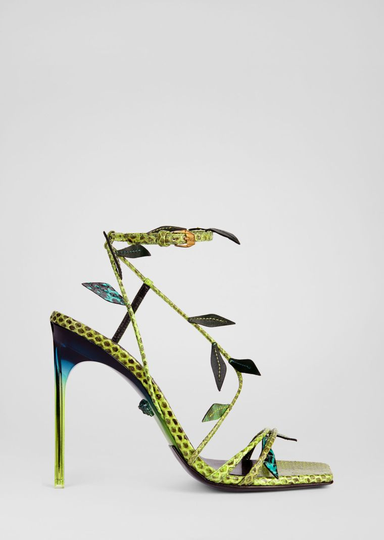 heeled sandals by Versace