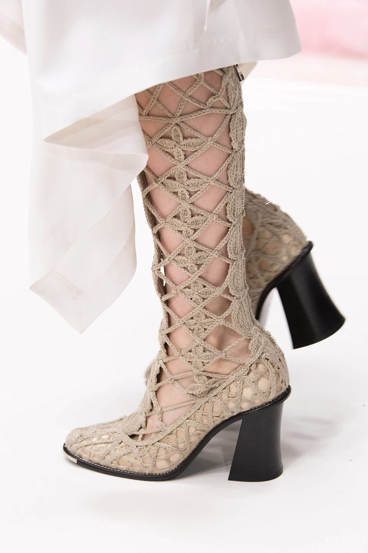 women's summer sandals knitted ankle boots by Armani