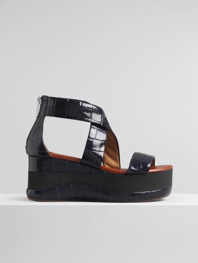 women's flatform summer sandals by Chloé