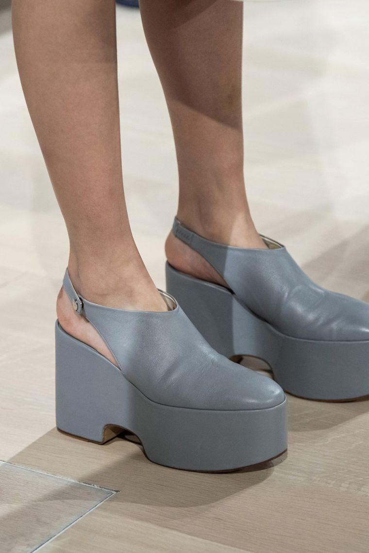 women's summer sandals with platform by Tibi