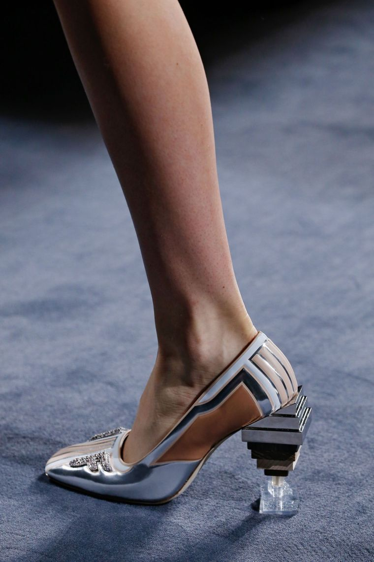 chunky women summer sandals by Fendi