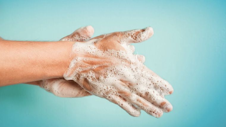 wash your hands against the virus