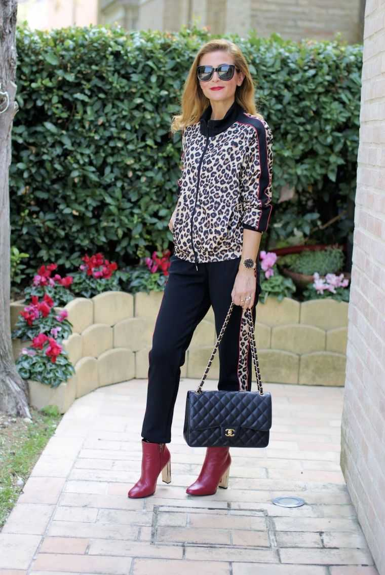 outfit idea with animal motifs