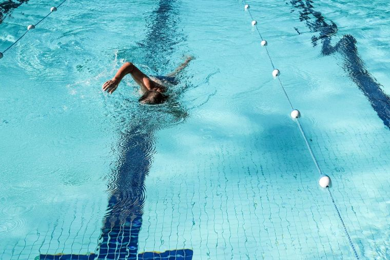 go swimming during the pandemic