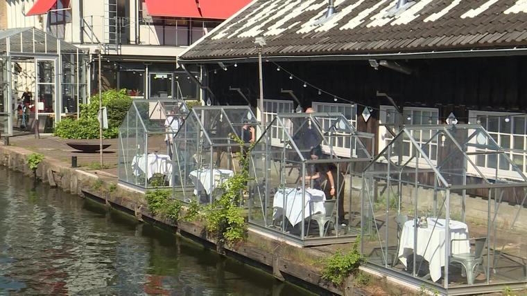 go to restaurant Amsterdam during coronavirus