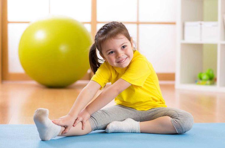 teach little ones to do yoga