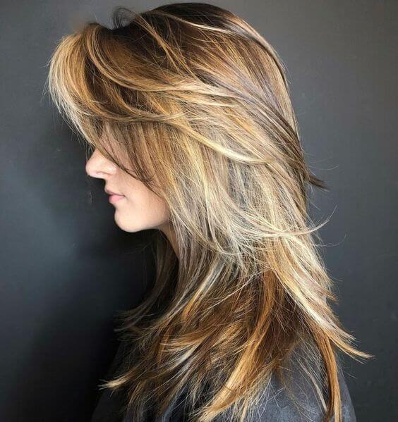 cut hair in layers