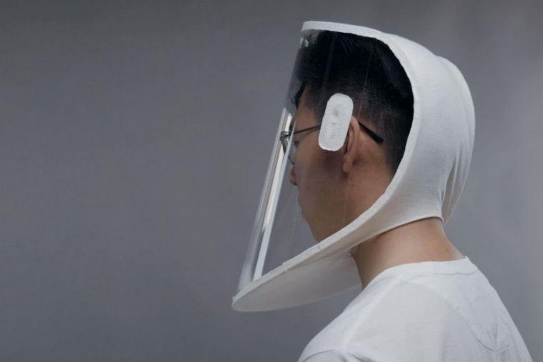 x-hood face shield