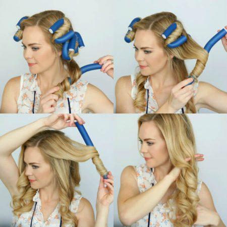 make waves hair curlers
