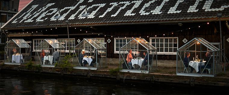 restaurant idea Amsterdam protection coronavirus
