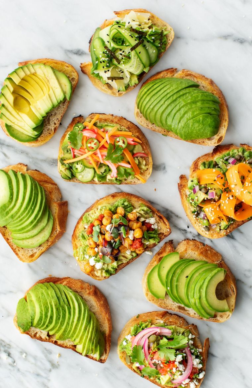 idea of recipes with avocados