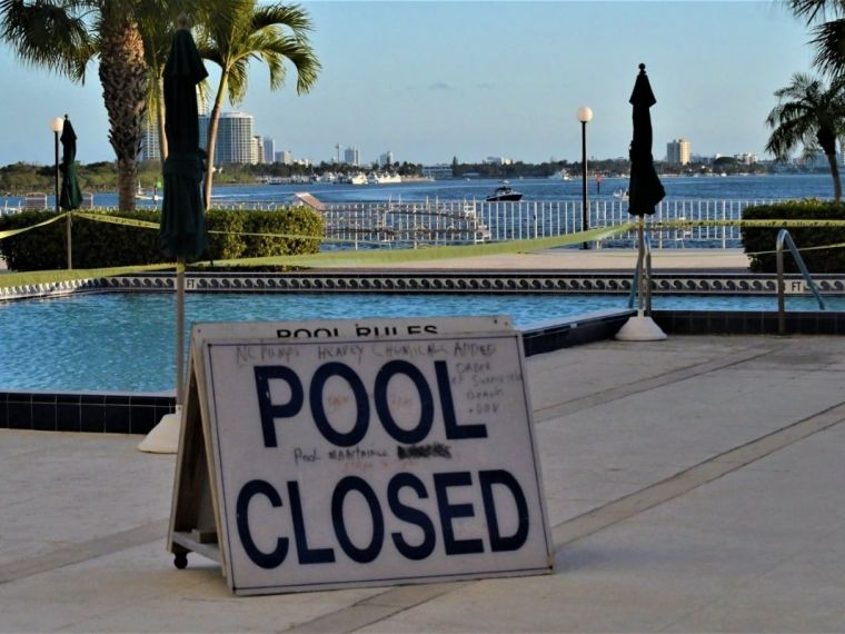 swimming pools opening