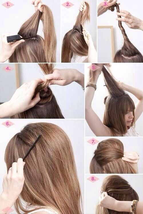 updo crepe hairstyles