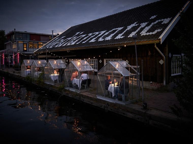 restaurant greenhouse Amsterdam measure security