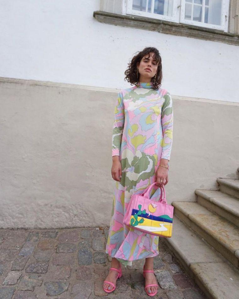 long dress for spring