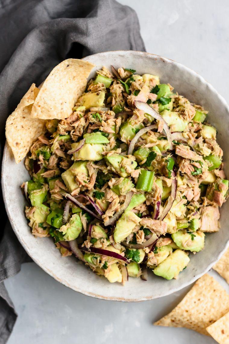 avocado salad: recipe