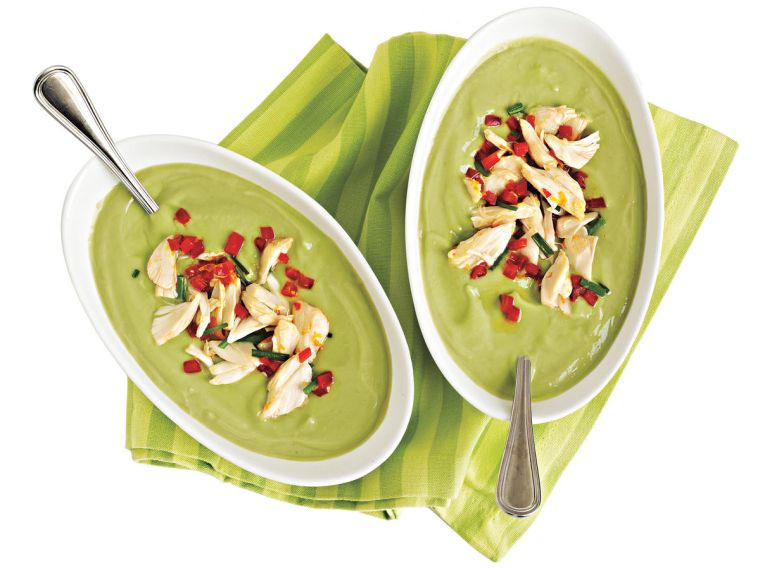 recipe idea for green soup
