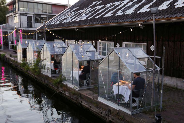 tables restaurant houses greenhouse