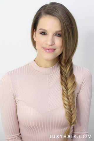 side herringbone braid
