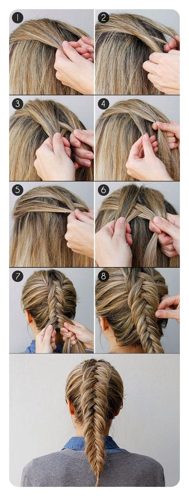 herringbone braid steps