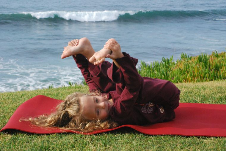 do yoga outside