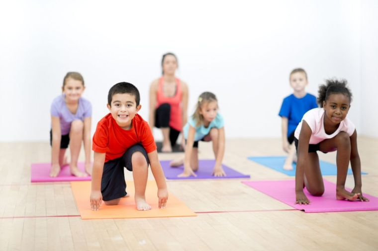 yoga and physical exercises