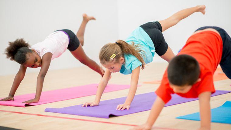 yoga idea for kids