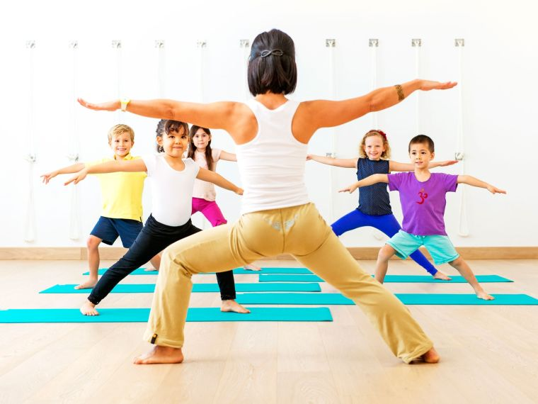 yoga for kids and the positives