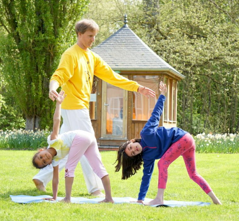 yoga for children and health