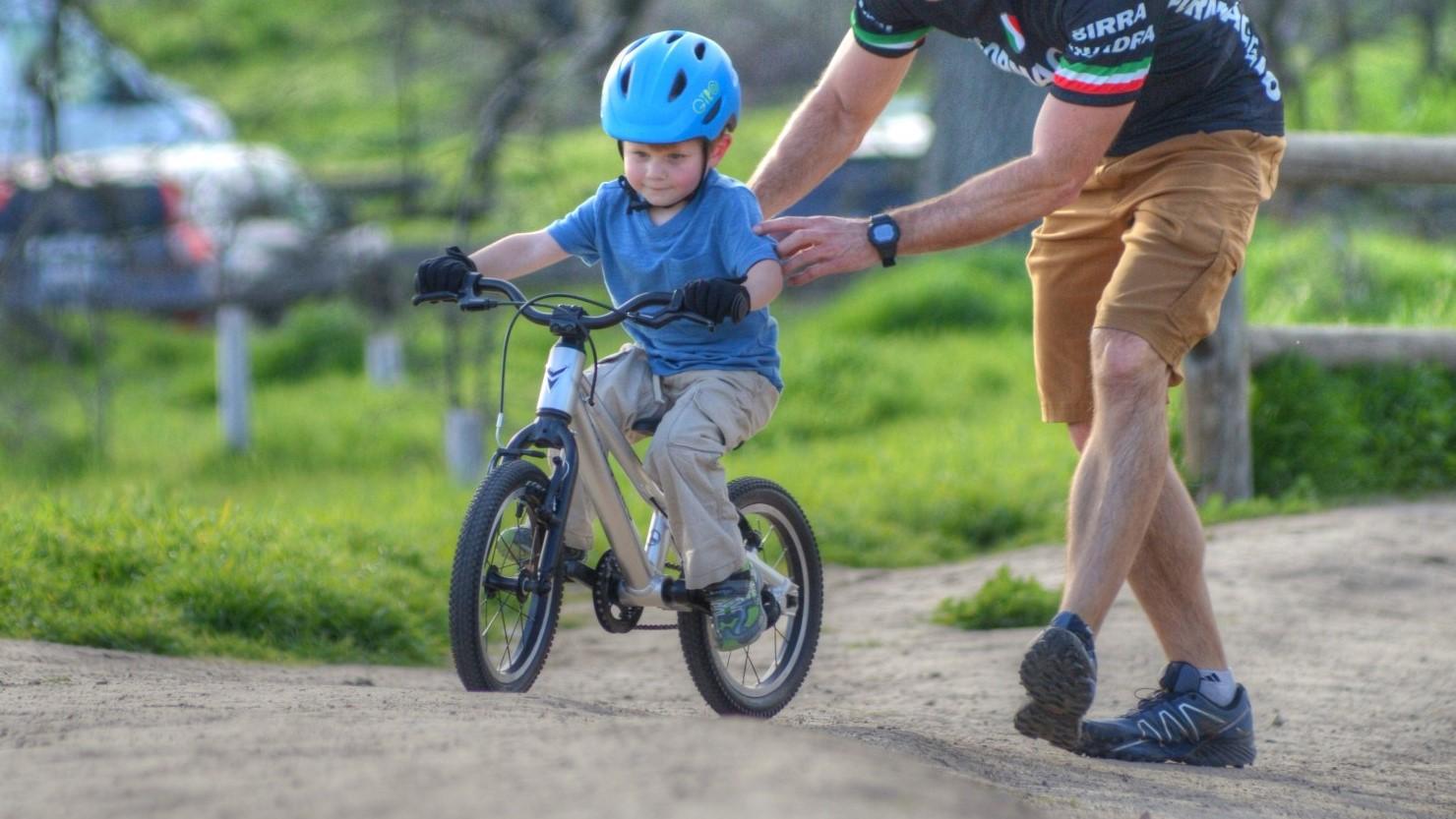 tips for teaching biking